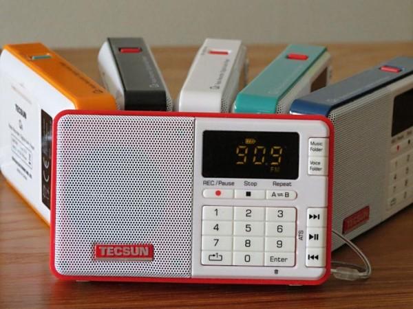 TECSUN Q3/D Radiorekorder bei Bonito