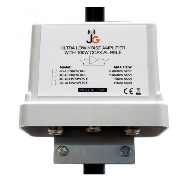 Mastvorverstärker Ultra Low Noise 144MHz (2m) mit VOX