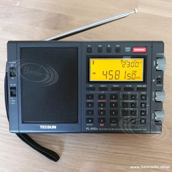 Weltempfänger Tecsun PL-990X bei Bonito